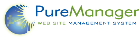 Pure Manager Web Site Management System